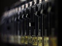 Interruttore elettrico immagine stock