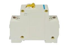Interruttore elettrico per il pannello di controllo Fotografia Stock Libera da Diritti