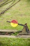 Interruttore ferroviario Fotografia Stock Libera da Diritti