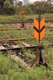 Interruttore ferroviario della guida Fotografie Stock