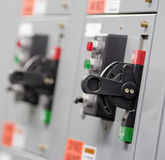 Interruttori elettrici Immagine Stock Libera da Diritti