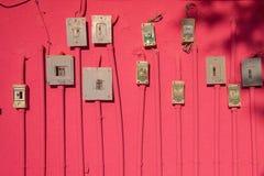 Interruttori elettrici Fotografia Stock