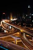 Interseção da metrópole Imagens de Stock