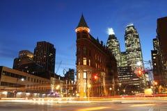 Interseção de Toronto Fotografia de Stock Royalty Free