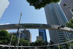 Interseção perto da delegacia de Shinjuku Foto de Stock