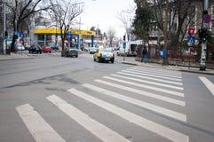 Interseções de Bucareste imagem de stock royalty free