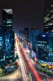 Intersección de Gangnam Imagenes de archivo