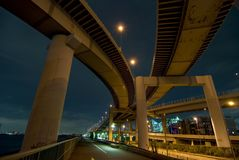 Intersección de las carreteras Imagen de archivo