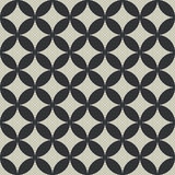 Intersecting circles pattern. Stock Photography