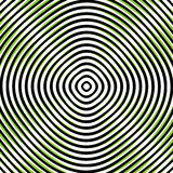 Intersecting concentric circles. Moire, noise effect texture / p. Attern stock illustration