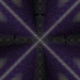 Intersecting concentric circles. Moire, noise effect texture / p Royalty Free Stock Images