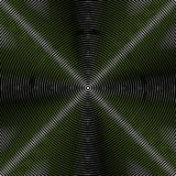 Intersecting concentric circles. Moire, noise effect texture / p. Attern vector illustration