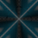 Intersecting concentric circles. Moire, noise effect texture / p Royalty Free Stock Photos