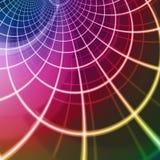 Intersecting digital grid Stock Image