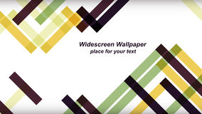 Intersecting oblique lines. Abstract geometric background of intersecting oblique lines. Widescreen desktop wallpaper. Background for presentations and posters stock illustration