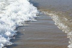 Intersecting waves royalty free stock photography
