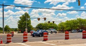 Intersection barreled- Images libres de droits