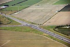 Intersection d'omnibus dans les domaines image libre de droits