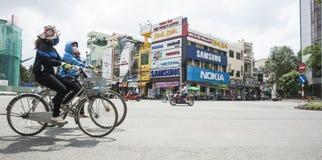 Intersection de Siagon. photographie stock libre de droits