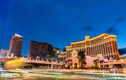 Free Intersection Of The Las Vegas Strip And Flamingo Road Royalty Free Stock Images - 163754109