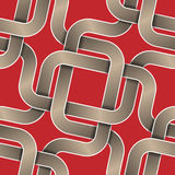 Intersection ribbons seamless pattern Royalty Free Stock Photo