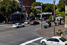 Intersection of Sixth St. and Mill Ave, Tempe, Arizona USA Royalty Free Stock Image