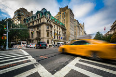 Intersection of 5th Avenue and 84th Street in the Upper East Sid Royalty Free Stock Images