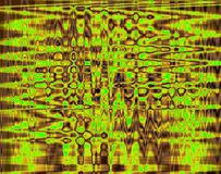 INTENSE YELLOW AND GREEN GRID PATTERN Royalty Free Stock Image