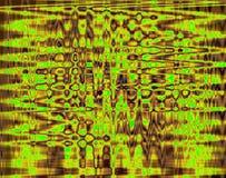 INTENSE YELLOW AND GREEN GRID PATTERN. Intersectiong grid pattern in black, green and yellow Royalty Free Stock Image