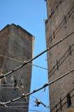 Intersections à Bologna images libres de droits