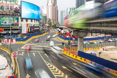 Intersezione di Kuala Lumpur Bukit Bintang immagini stock