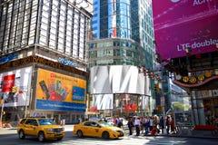 Intersezione vicino al Times Square Immagini Stock Libere da Diritti