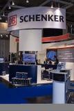 Intersolar 2009 - Cabine 2 van OB SCHENKER Stock Afbeeldingen