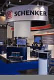 Intersolar 2009 -DB SCHENKER Booth 2. Intersolar 2009 - Munich Germany - DB SCHENKER Booth 2 Stock Images