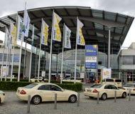 Intersolar 2009 - Monaco di Baviera Germania giusta Enterance Immagini Stock Libere da Diritti