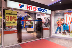 Intersport Royalty Free Stock Images