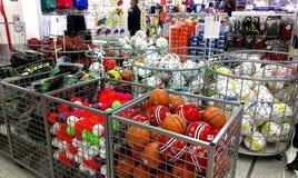 Intersport shoppar i Tammerfors, Finland Fotografering för Bildbyråer