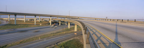 Interstate 10 and 15 Stock Photo