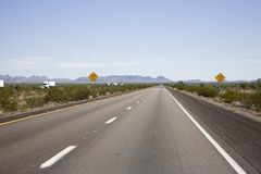 Interstate 10. In Arizona, USA Stock Photography