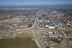 Interstate 10 and Loop 202 Interchange Stock Image