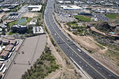 Interstate 10 near Tempe Stock Image