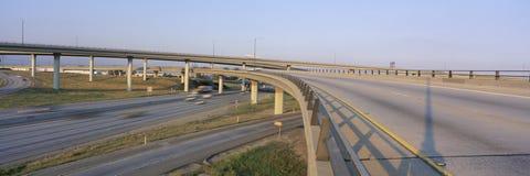 Interstate 10 och 15 Arkivfoto