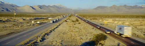 Interstate 15 Fotografering för Bildbyråer