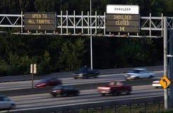 interstate royaltyfria foton