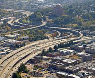 Interstate 5 in Seattle Royalty Free Stock Photography