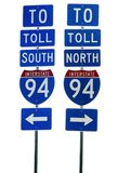 Interstate 94 Road Sign Royalty Free Stock Images