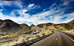 Interstate 40 stock photo