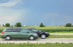 interstate blur royaltyfri foto