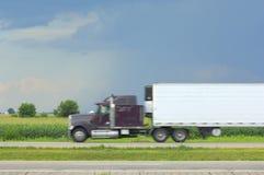 interstate blur arkivbild