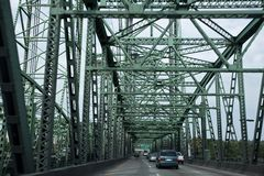 Interstate Bridge Royalty Free Stock Photos